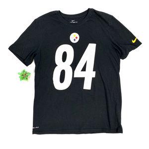 The Nike Tee Dri-Fit NFL Steelers Antonio Brown 84